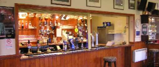 Olveston Sports & Social Club bar