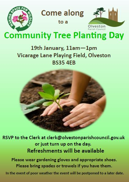 Community Tree Planting poster