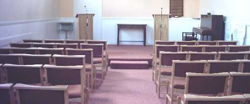 Interior - Tockington Methodist Church